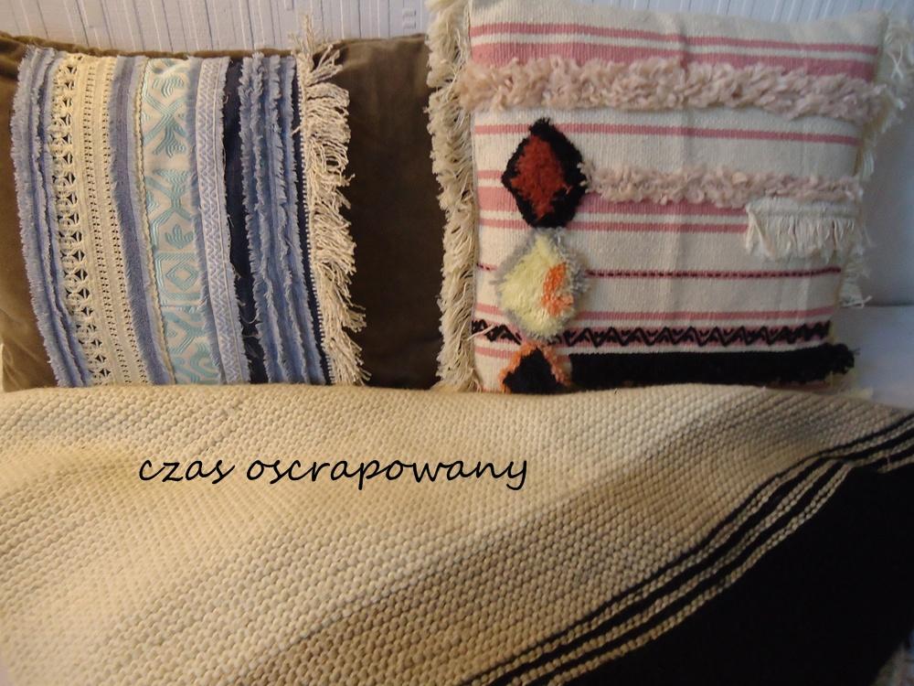 pomysłowe poduszki do wnętrza w stylu boho