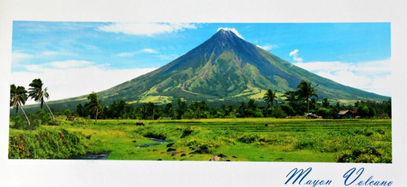 Mayon wulkan filipiny
