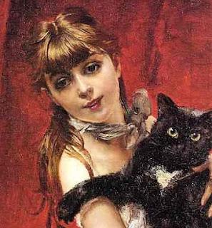 A Menina e o Gato Preto