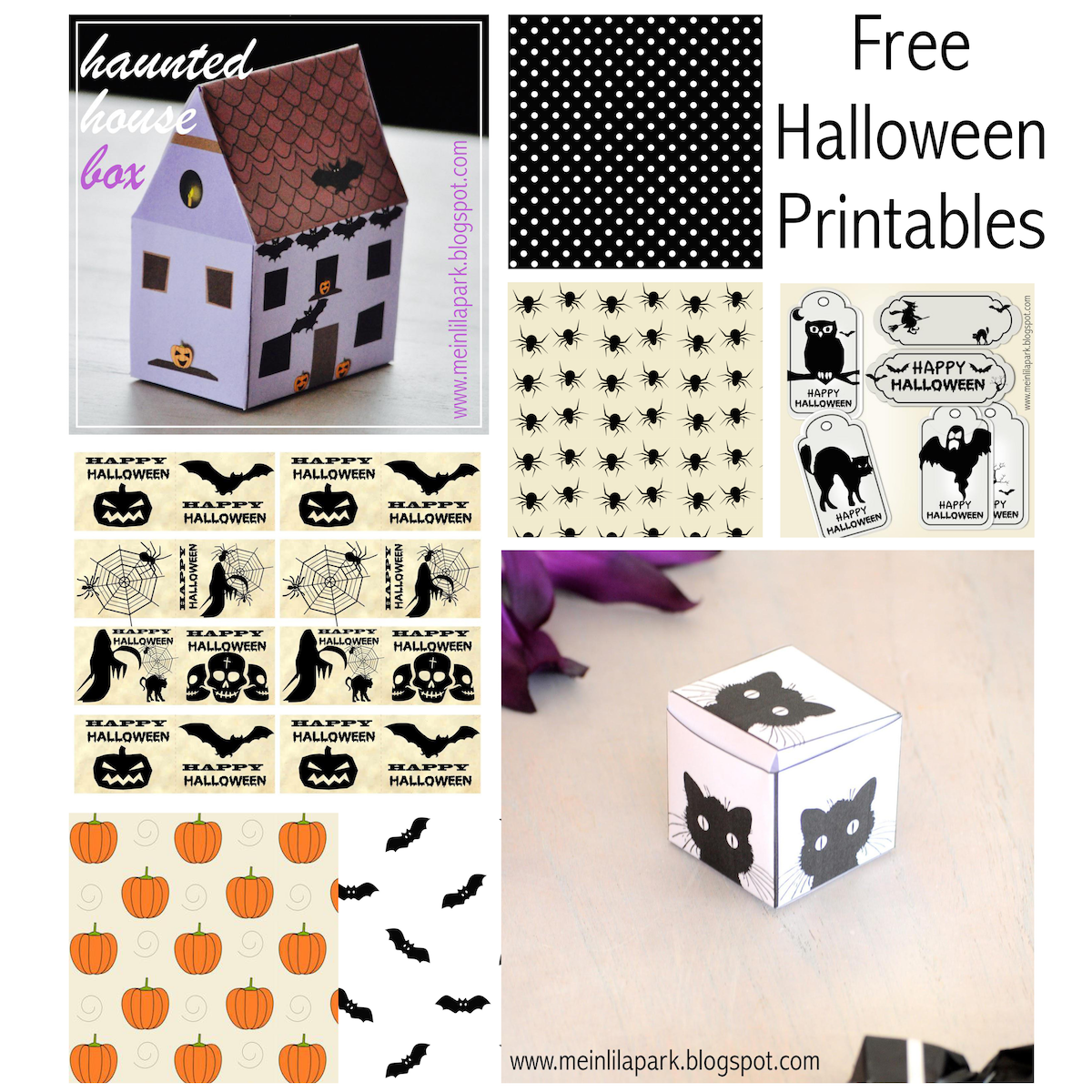Free printable Halloween stickers and papers - Halloween ...