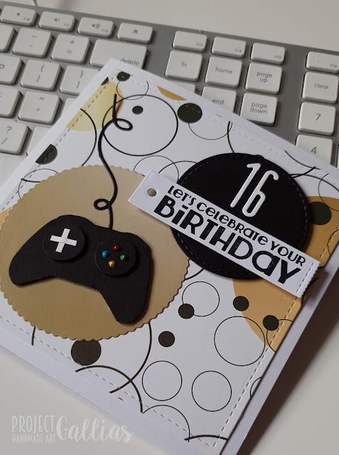 Coś dla gracza czyli kartki urodzinowe z PS.