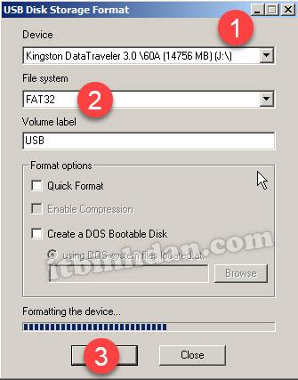 USB -Disk -Storage -Format