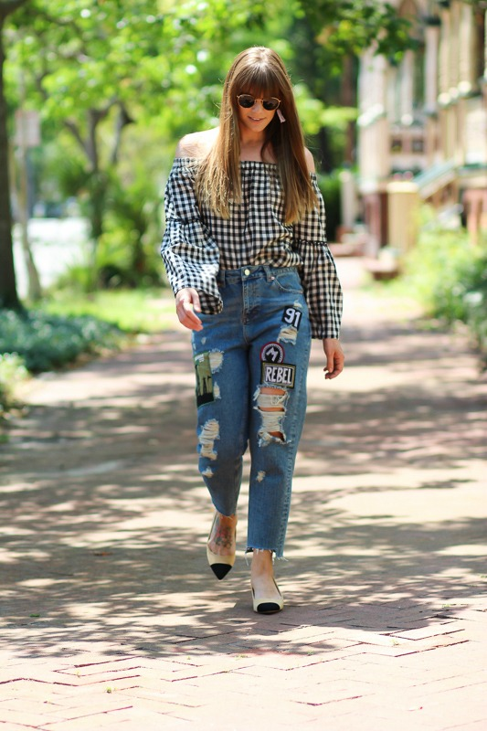 Summer gingham outfits