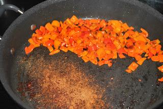 peppers and seasonings