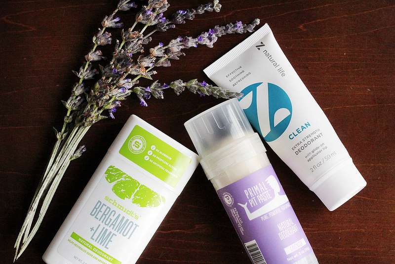 Switching to safer beauty products {Natural Deodorants} from Work it Mommy blog