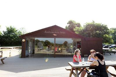 Cafe in Richmond park