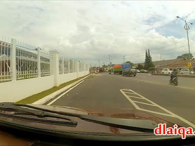 masuk ke jalan lintas Sumatera