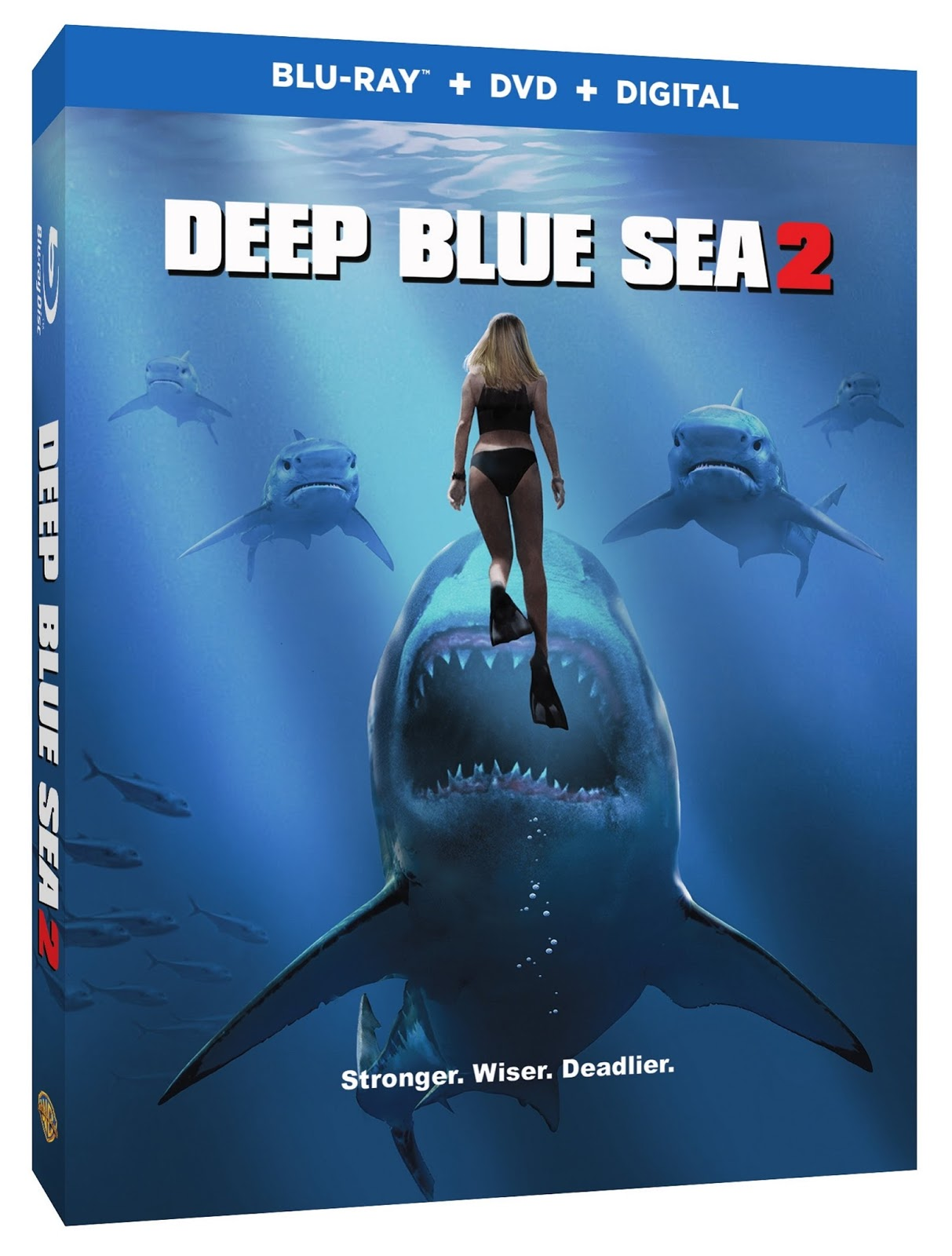 DEEP BLUE SEA 2: See the New Clip and Monsterpalooza Images on Eve of  Release