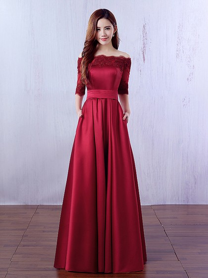 http://uk.millybridal.org/product/a-line-off-the-shoulder-satin-floor-length-appliques-lace-burgundy-1-2-sleeve-prom-dresses-ukm020102406-19550.html?utm_source=post&utm_medium=1634&utm_campaign=blog