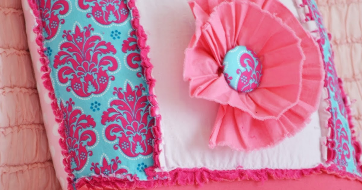 How to Sew a Rag Quilt Throw Pillow A Vision to Remember All Things Handmade Blog: How to Sew ...