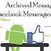 How to View Archived Messages On Facebook App