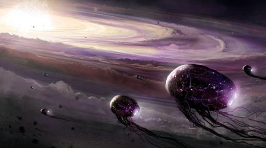 ¿Es el universo un gran organismo viviente?