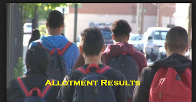 trial allotment result 2018