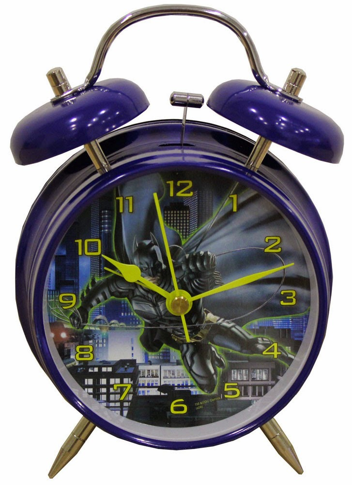 clock teenagers kids room batman theme room decor ideas