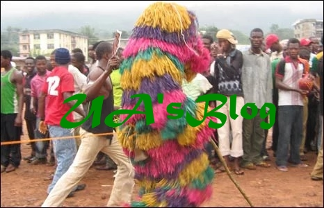 One feared killed, many injured as masquerades invade church during worship