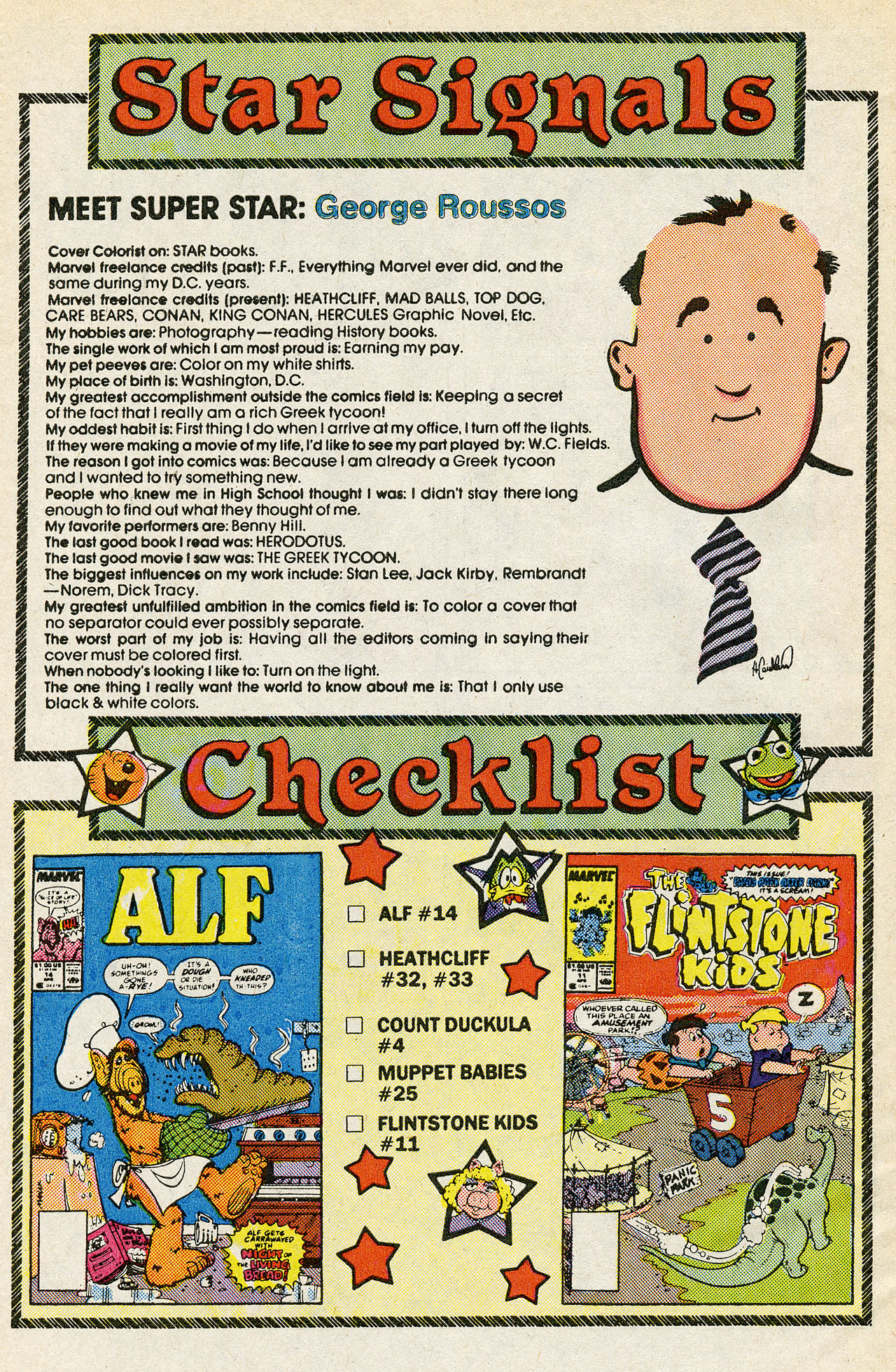 Read online ALF comic -  Issue #15 - 30
