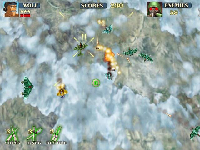 Tembak-tembakan Pesawat Sky Fire - Download Game Android Free