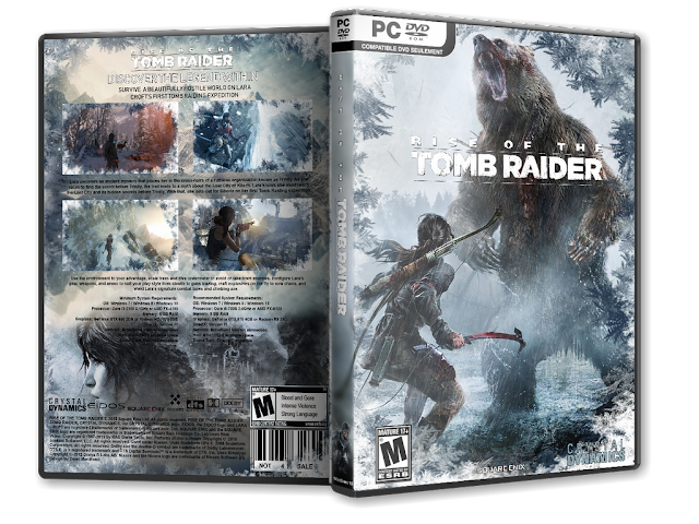 Capa Rise Of The Tomb Raider PC