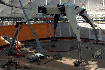 La Garra en el Estadio Unico de La Plata en Argentina - U2 360 Tour