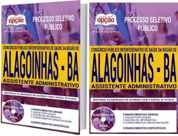 Apostila Concurso Policlínica de Alagoinhas 2018