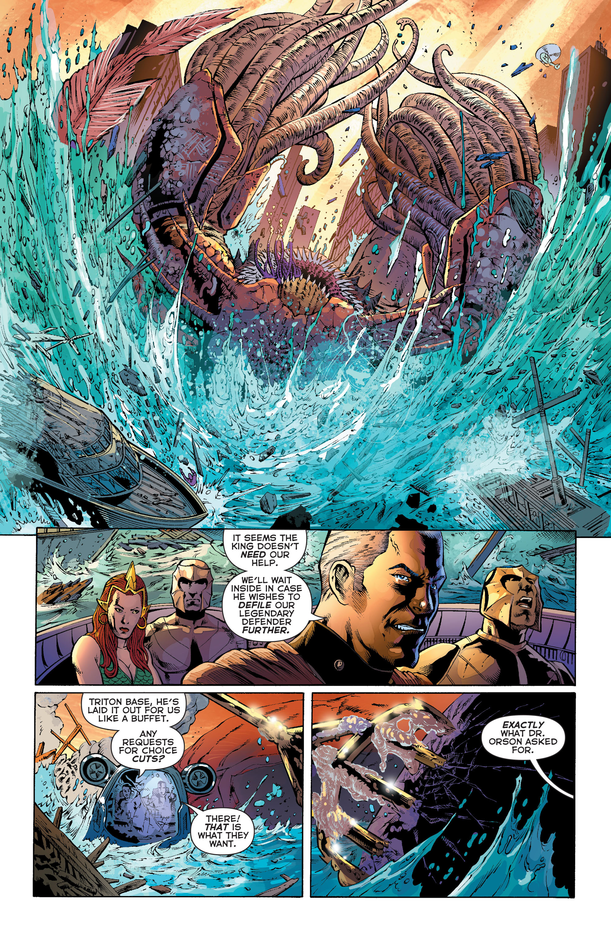 Read online Aquaman (2011) comic -  Issue #27 - 17