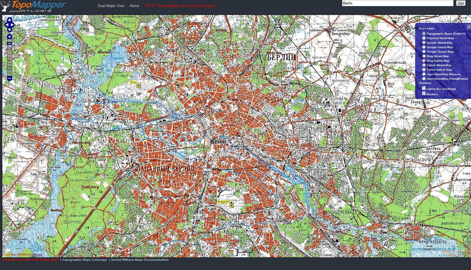 Topographische Karte Deutschland Kostenlos.Topographische Landkarten Historische Landkarten