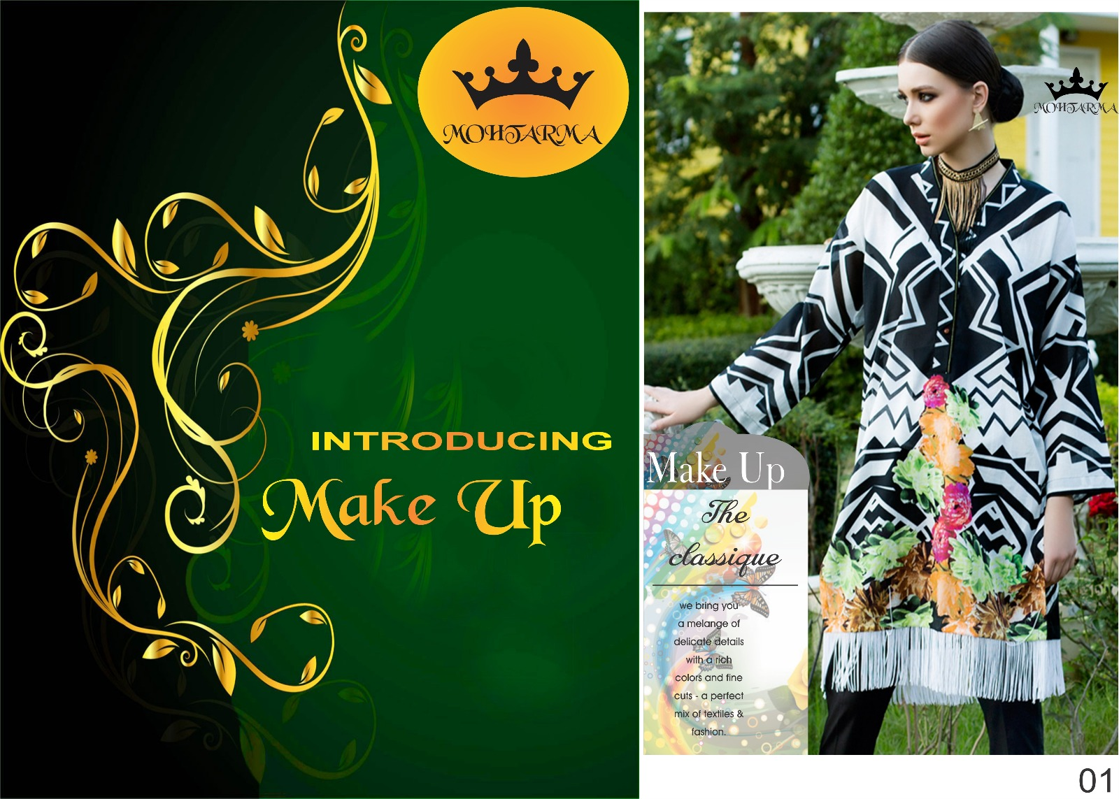 Make Up – Best Quality Comfortable Printed Kurti