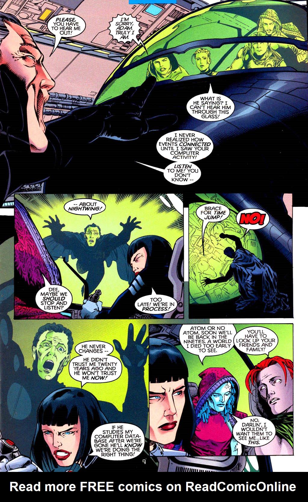 Read online Tangent Comics/ Doom Patrol comic -  Issue # Full - 10