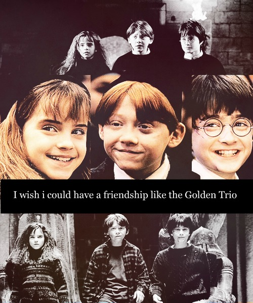 Harry Potter Friendship Wallpaper Quotes: Golden Trio Harry Potter Quotes. QuotesGram