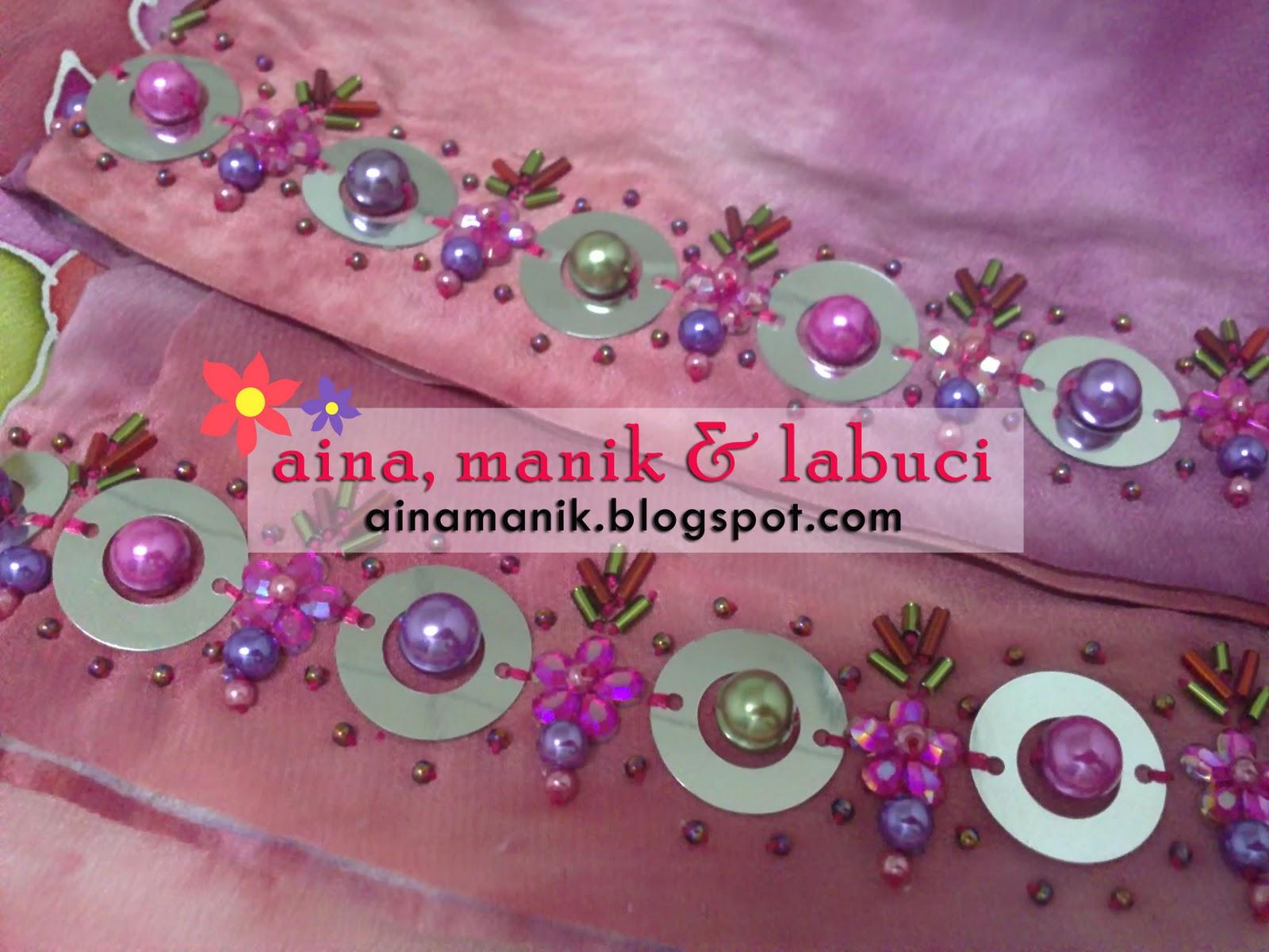 August Aina Creative Design Labels Manik Juntai Manik Tabur