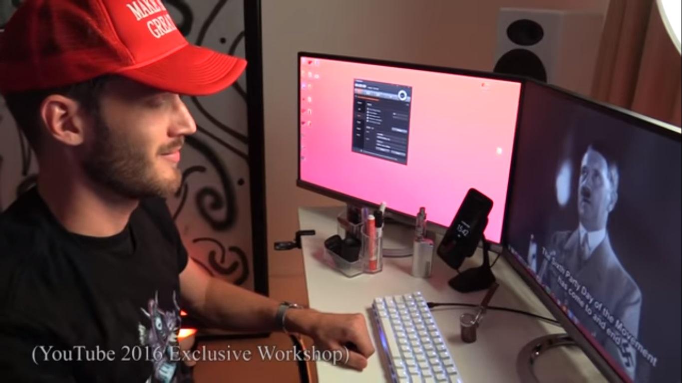 51ba63879 O vídeo criticava o programa YouTube Hero.