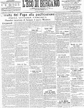 l' ECO DI BERGAMO 30 OTTOBRE 1922