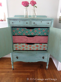 Chest of drawers-inspired by Cath Kidston
