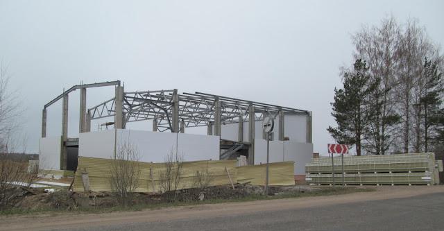 строительство магазина в Устье