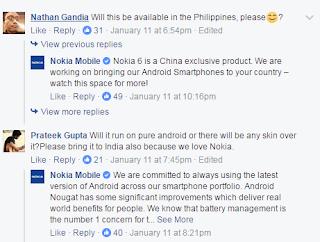 nokia 6 china exclusive