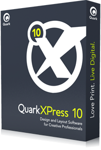 Quark delivers his tool layout in version 10 improves the rendering of documents through the use of Xenon graphics engine, it leveraging the best capabilities of CPUs. The software can work with HTML5 App Studio app