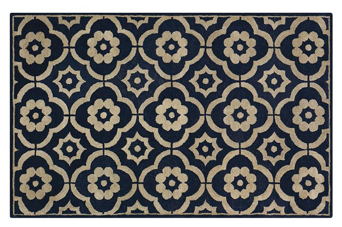 anderson grant 20 Classic Dark Blue Area Rugs for Any Budget