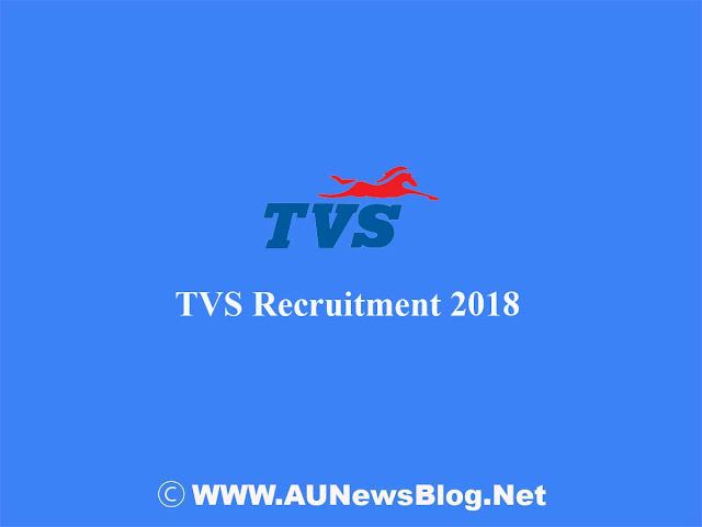 TVS Openings 2018 - Design Engineer Post