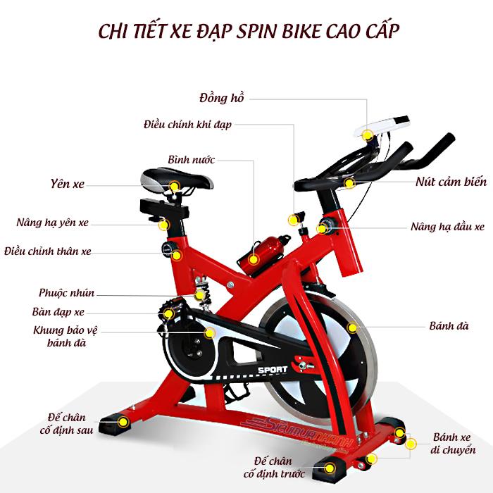 Sử dụng máy tập xe đạp hiệu quả tốt nhất