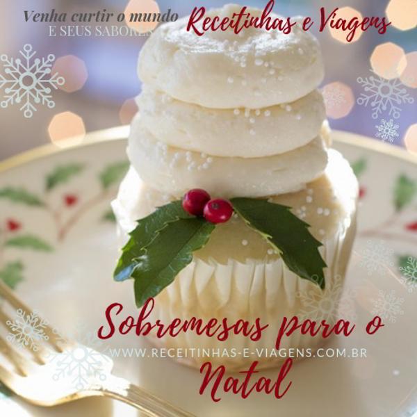 Sobremesas pro Natal