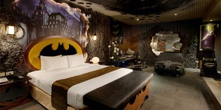Something Amazing Batman Inspire Hotel Room