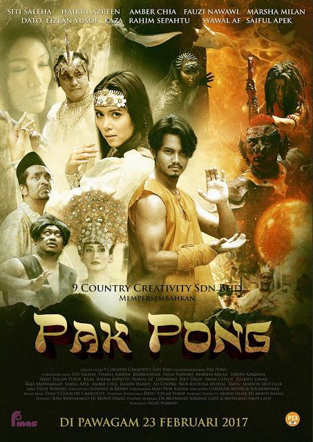 Sinopsis Filem Pak Pong, Review Filem Pak Pong, Pak Pong Review, Pelakon Utama Pak Pong Terdiri Daripada Hairul Azreen, Siti Saleha, Eizlan Yusof, Badrol, Fauzi Nawawi,