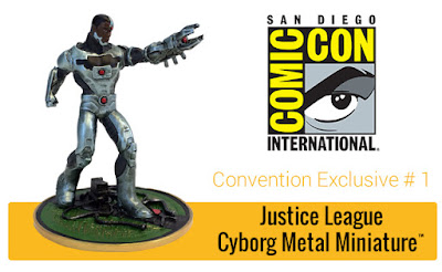 San Diego Comic-Con 2017 Exclusive Justice League New 52 Cyborg Metal Miniature by Factory Entertainment x DC Comics