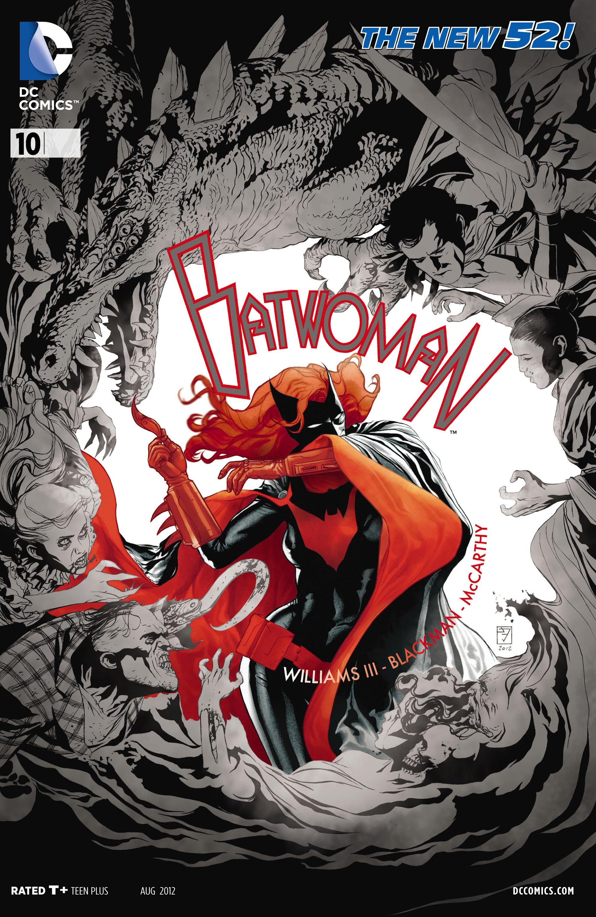 Batwoman (2011) 10 Page 1