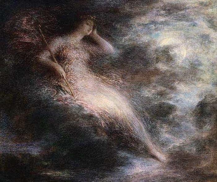 Queen of the Night Ignace Henri Jean Théodore Fantin-Latour, French, date unknown Image courtesy ArtMagick.