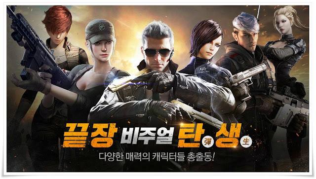 tải CF mobile Hàn Quốc