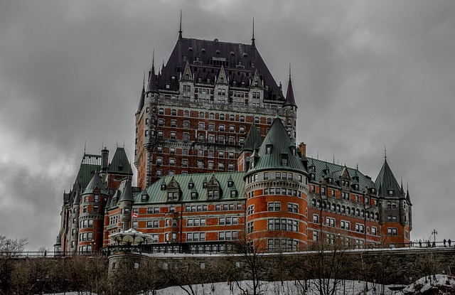 Chateau Frontenac in Québec City, Canada