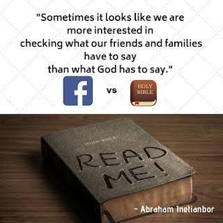 facebook vs the bible