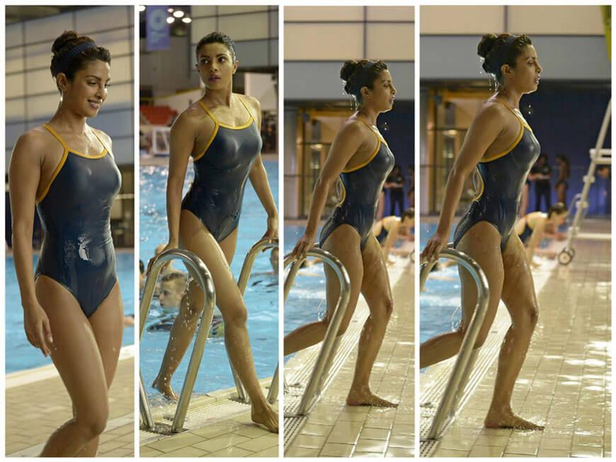Priyanka Chopra Hot Bikini Photos From Us Tv Show Quantico -1213