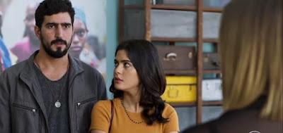 Órfãos da Terra: Laila e Jamil desprezam  pistas da farsa de Dalila e atestam burrice